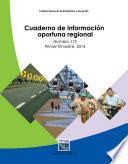Cuaderno De Información Oportuna Regional