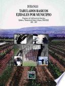 Durango. Tabulados Básicos Ejidales Por Municipio. Programa De Certificación De Derechos Ejidales Y Titulación De Solares Urbanos, Procede. 1992 1997