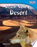 El Desierto Del Valle De La Muerte (death Valley Desert)