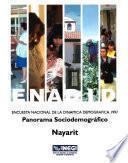 Enadid. Encuesta Nacional De La Dinámica Demográfica 1997. Panorama Sociodemográfico. Nayarit