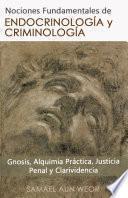 libro EndocrinologÍa Y CriminologÍa