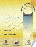 Ensenada Estado De Baja California. Cuaderno Estadístico Municipal 2000