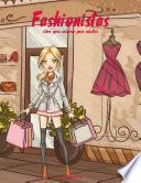 Fashionistas Libro Para Colorear Para Adultos 1