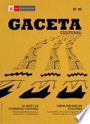 Gaceta Cultural 46