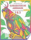 libro Garabatos De Animales Libro Para Colorear Para Niños 1 & 2