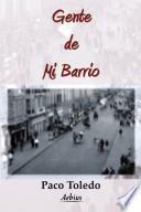 libro Gente De Mi Barrio