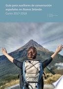 Guía Para Auxiliares De Conversación Españoles En Nueva Zelanda. Curso 2017 2018