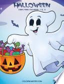 Halloween Libro Para Colorear 1 & 2