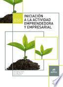 Iniciación A La Actividad Emprendedora Y Empresarial 3º Eso (lomce)