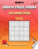 libro Libro De Puzzle Sudoku