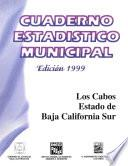 libro Los Cabos Estado De Baja California Sur. Cuaderno Estadístico Municipal 1999