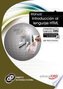 libro Manual De Introducción Al Lenguaje Html. Formación Para El Empleo