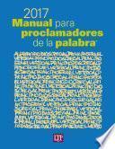 Manual Para Proclamadores De La Palabra® 2017