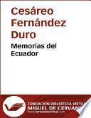 libro Memorias Del Ecuador