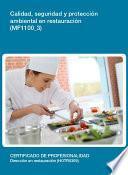 Mf1100_3   Calidad, Seguridad Y Protección Ambiental En Restauración