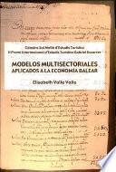 Modelos Multisectoriales Aplicados A La Economía Balear