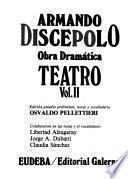 Obra Dramática De Armando Discépolo