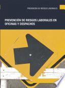 libro Prevención De Riesgos Laborales En Oficinas Y Despachos