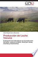 libro Producción De Leche Vacuna