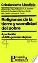 Religiones De La Tierra Y Sacralidad Del Pobre