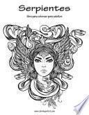 libro Serpientes Libro Para Colorear Para Adultos 1