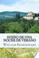 libro Sueo De Una Noche De Verano/ A Midsummer Night S Dream