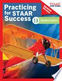 libro Time For Kids Practicing For Staar Success: Mathematics: Grade 3 (spanish Version)