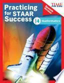 Time For Kids Practicing For Staar Success: Mathematics: Grade 4 (spanish Version)