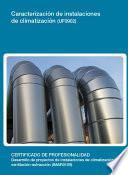Uf0902   Caracterización De Instalaciones De Climatización