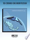 libro Xi Censo De Servicios. Censos Económicos 1994