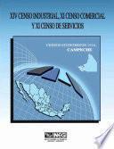 Xiv Censo Industrial, Xi Censo Comercial Y Xi Censo De Servicios. Censos Económicos, 1994. Campeche