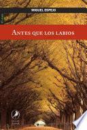 libro Antes Que Los Labios