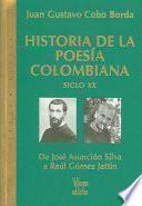 Historia De La Poesía Colombiana, Siglo Xx