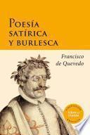 libro Poesía Satírica Y Burlesca