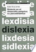 libro Dislexia En El Desarrollo Psíquico