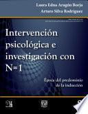 libro Intervención Psicológica E Investigación Con N=1