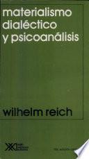 libro Materialismo Dialéctico Y Psicoanálisis