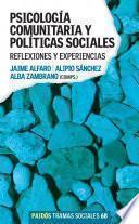 Psicología Comunitaria Y Políticas Sociales