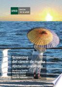 libro Screening Del Cáncer De Mama. Afectación Psicológica