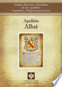 libro Apellido Allué