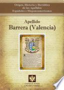 Apellido Barrera (valencia)