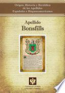 libro Apellido Bonsfills