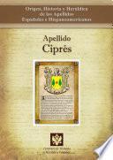 libro Apellido Ciprés