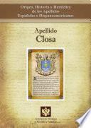libro Apellido Closa