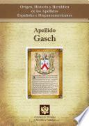 libro Apellido Gasch