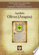 libro Apellido Oliver.(aragón)