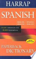Harrap Spanish Paperback Dictionary