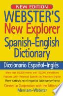 Webster S New Explorer Spanish English Dictionary