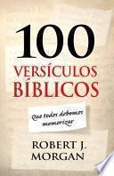 libro 100 Versículos Bíblicos Que Todos Debemos Memorizar