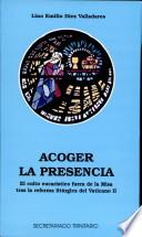 libro Acoger La Presencia
